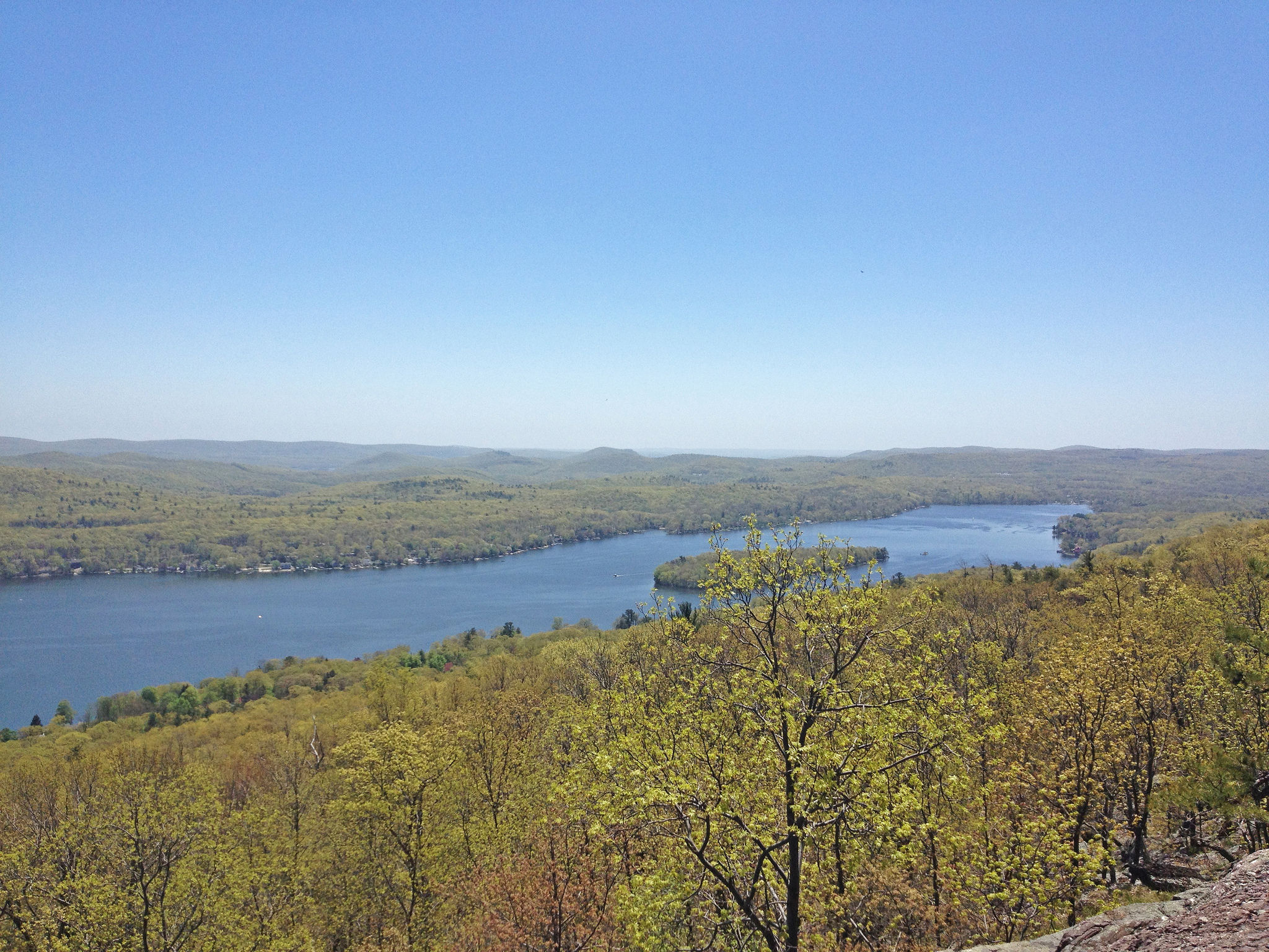 Greenwood Lake view